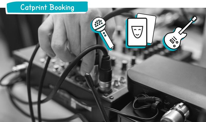 Booking für Veranstaltungen