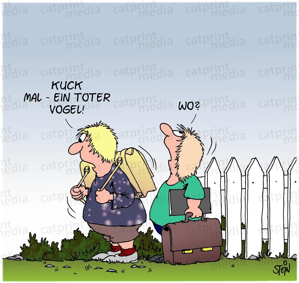 Outdoor-Ausstellung mit Uli Stein Cartoons in Südtirol